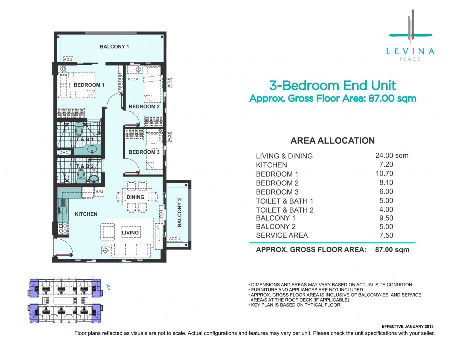 Levina Place 3 Bedroom