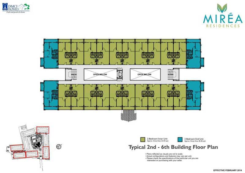 Mirea Building Layout
