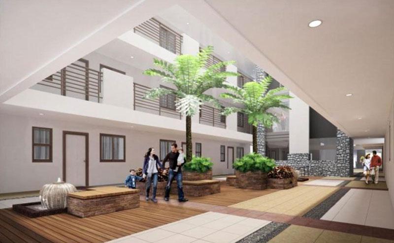 Garden Atrium with Scenic Elevator