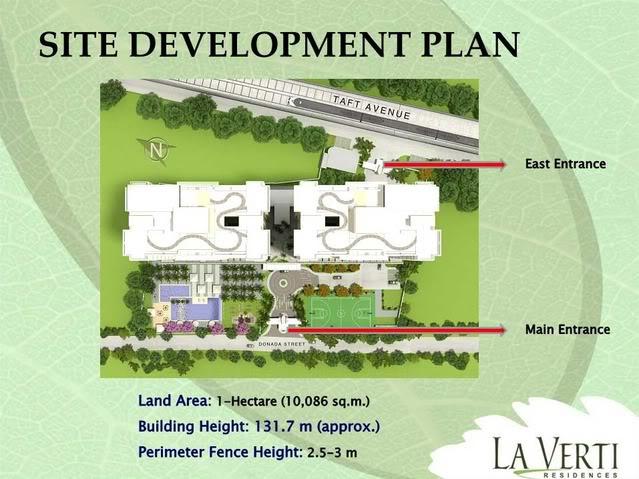 La verti residences pasay dmci homes online for Site plans online