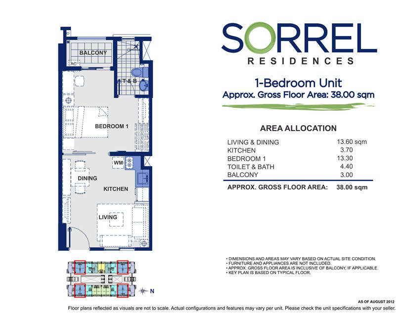 Sorrel 1 Bedroom