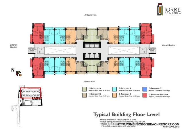 Torre de Manila Building Layout