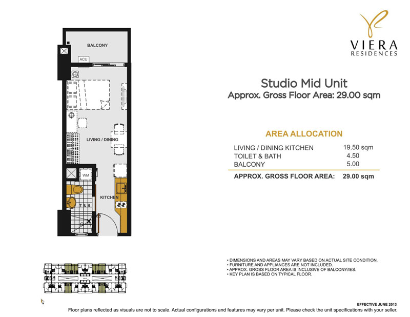 Viera Studio Mid Unit