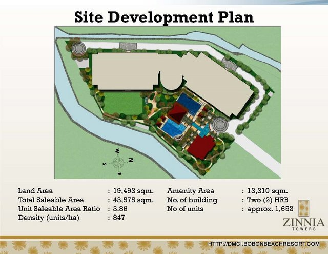 Zinnia Towers Site Development Plan