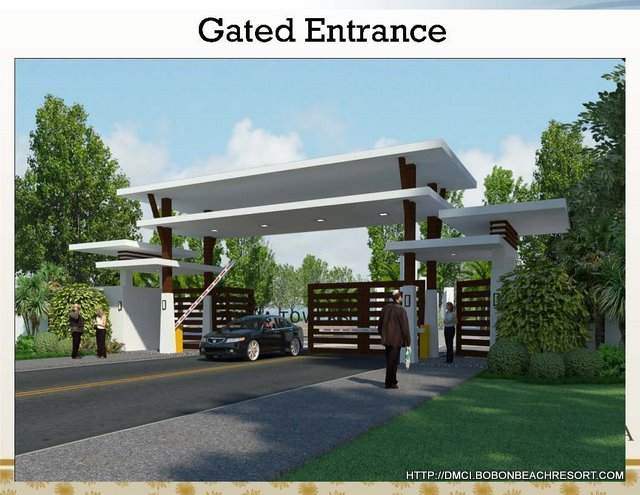 Modern Entrance Gate Design 640 x 495