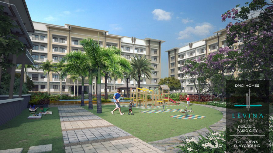 Levina Place Play Area
