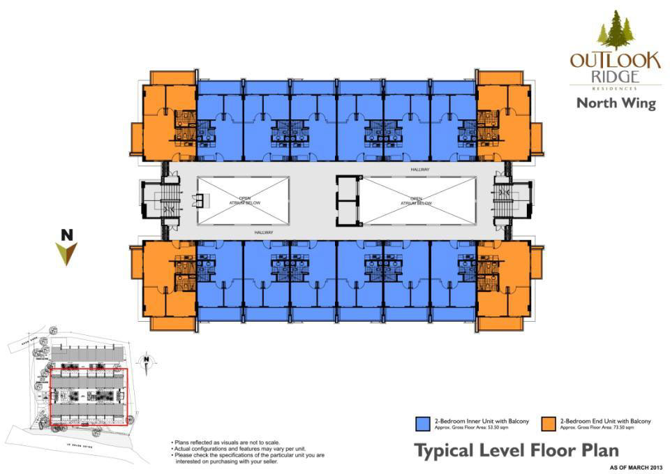 North Wing Building Layout