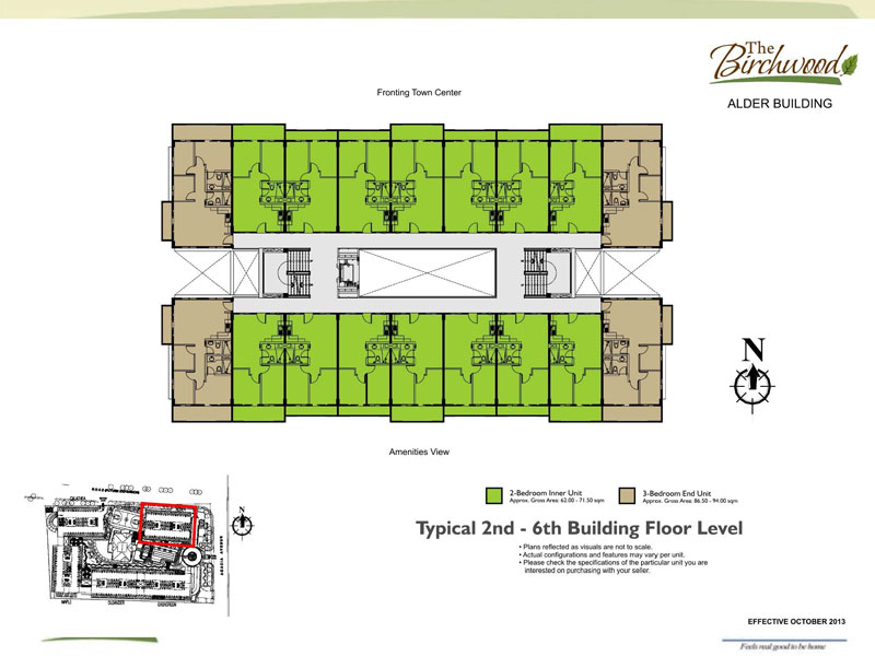 The Birchwood Residences Building Floor plan 2