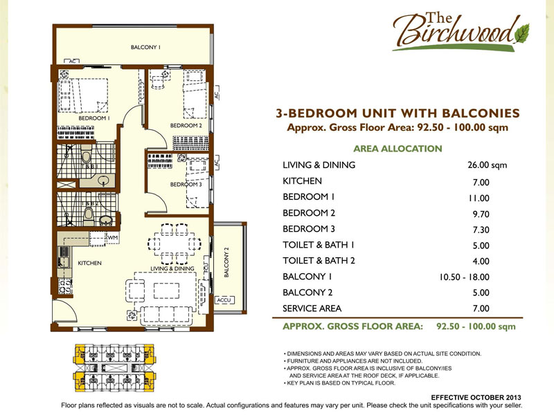 The Birchwood Residences 3BR big