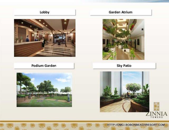 Zinnia Towers Lobby Sky Garden Patio