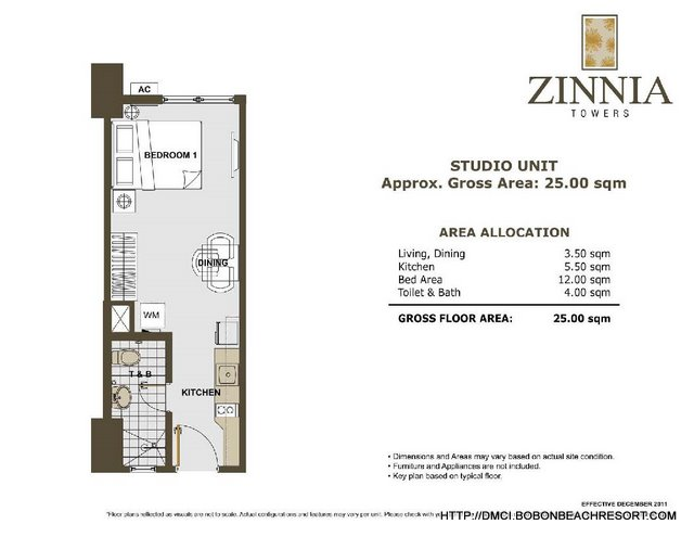 Zinnia Towers Studio