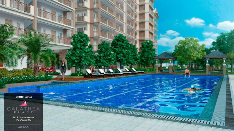 Calathea Place Lap-Pool