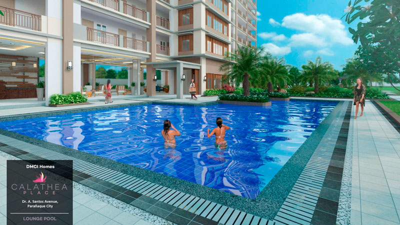 Calathea Place Lounge-Pool