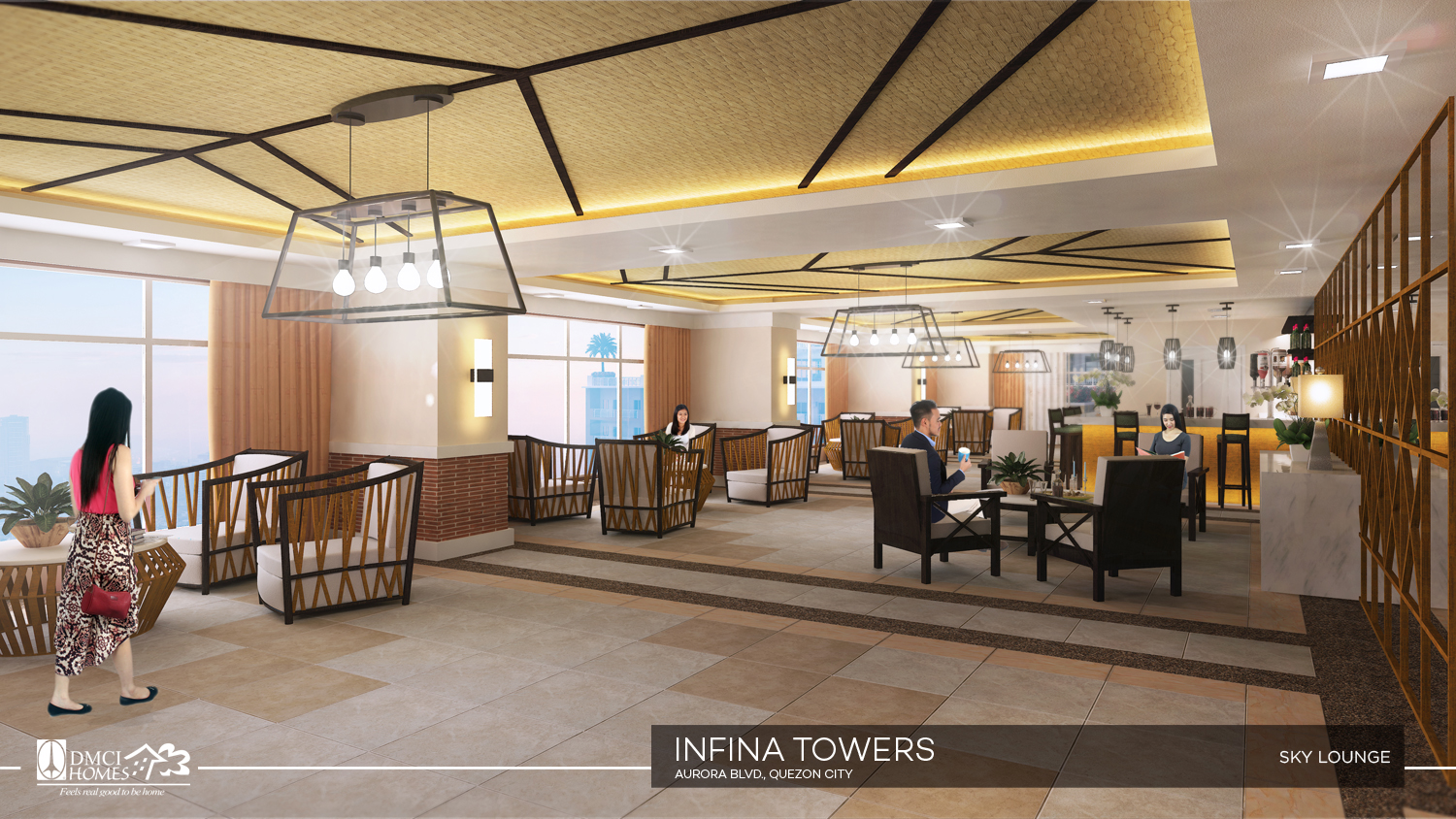 Relaxation Station Pool Lounge: Infina Towers Aurora Boulevard Cubao