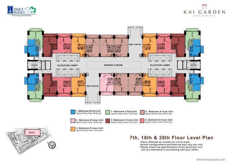 Kai Garden Residences Floorplans