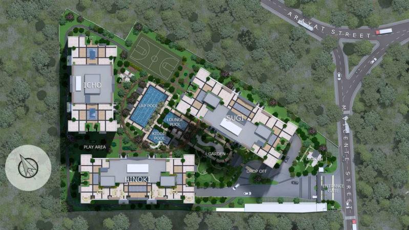 Kai Garden Residences Site Development Plan