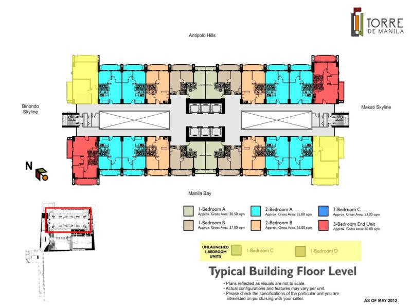 Torre de Manila DMCI Floor Plan